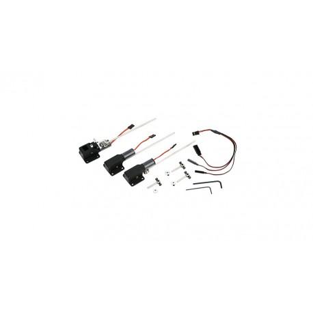 E-Flite Terna carrelli retrattili elettrici 10-15 (art. EFLG110)
