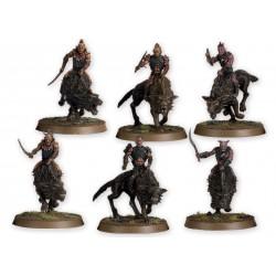 Lo Hobbit: Orchi Cacciatori su Warg Feroci (art. 99121462009)