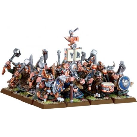 Warhammer Reggimento di Nani Guerrieri (art. 99120205002)