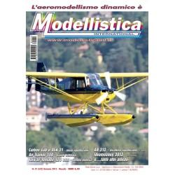 Modellistica Rivista di modellismo n°01 Gennaio 2013