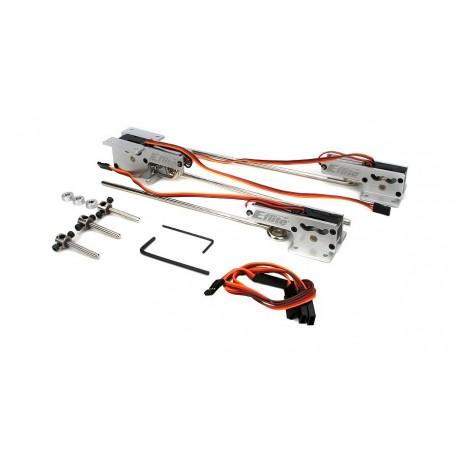E-Flite Terna carrelli retrattili elettrici 25-46 (art. EFLG330)