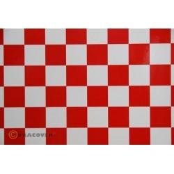 Oracover FUN 3, 2mt Bianco / Rosso (art. 43-010-023-002)