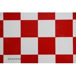Oracover FUN 5, 2mt Bianco / Rosso (art. 491-010-023-002)
