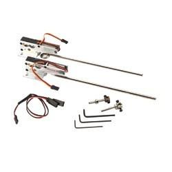 E-Flite Coppia carrelli retrattili elettrici 60-120 (art EFLG500