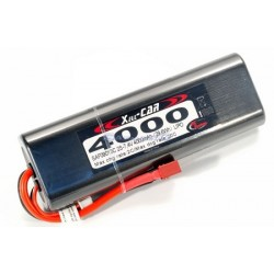 Rc System Batteria Li-po 7,4V 4000mAh 20C DEANS (art. SAF09013)