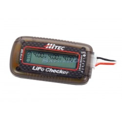 Hitec Analizzatore di batterie Li-po Checker (art. 118380)