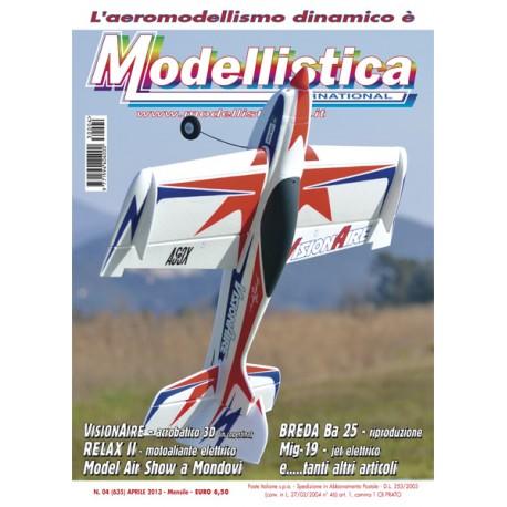 Modellistica Rivista di modellismo n°04 Aprile 2013
