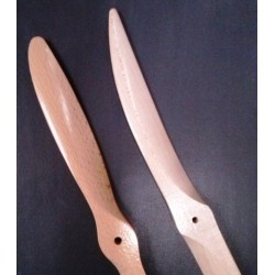 Elica Bipala in legno misura 15x6 Normale