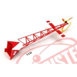 Hirobo Mini Lama R/C traliccio di coda Rosso (art. 0301-013)