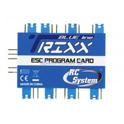 Rc System Scheda Trixx Programcard BLUE Line (art. RCSC0220)