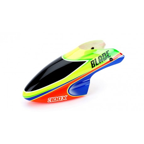 Capottina fibra di vetro Blade 300 X Verde/Arancione BLH4542D