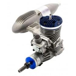 Evolution Motore Benzina 15GX2 15cc Pompa e marmitta (art. EVOE15GX2)