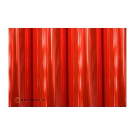 Oracover 2 mt Rosso FLUO TRASPARENTE (art. 21-026-002)