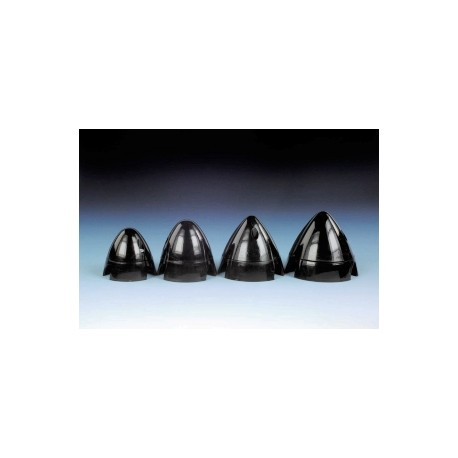 J Perkins Ogiva in nylon 3 pale diametro 56mm nera (JP5507352)