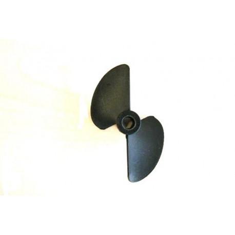 Prismalia Elica bipala sinistrorsa in plastica D 32mm (201B32-A)