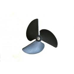 Prismalia Elica tripala sinistrorsa in plastica D 55mm (201B55-S