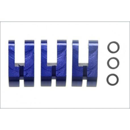 Kyosho Ceppi di ricambio frizione alluminio 3 pzz (art. IFW136)