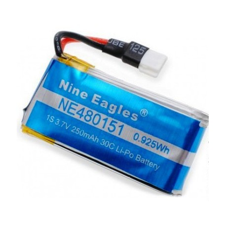 Nine Eagles Batteria Li-po 3,7V 250mAh 30C per Galaxy (NE252510)