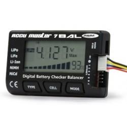 Jamara Analizzatore di batterie Master 7Bal (art. 066045)