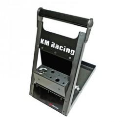 KM Cassetta porta attrezzi in alluminio ripiegabile (art. KMR-A026SG)