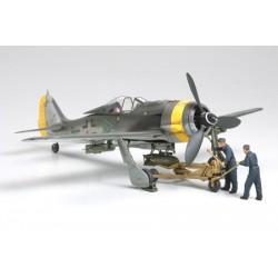 Tamiya Focke-Wulf Fw190 F-89 - w/Bomb Loading Set (art. TA61104)