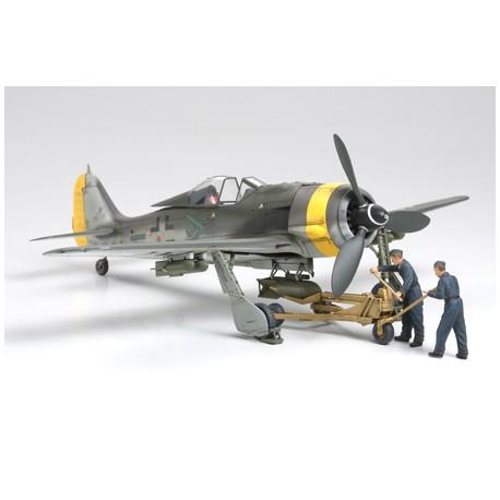 Tamiya Focke-Wulf Fw190 F-89 - w/Bomb Loading Set (art TA/61104)