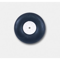 Jamara Ruotino posteriore singolo in gomma 25mm (art. 177313)