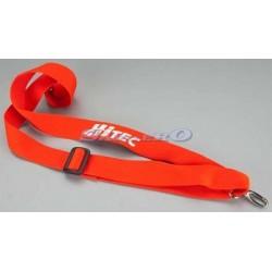 Hitec Cinghia tracolla rossa Hitec per trasmettitore RC (art. 58311)