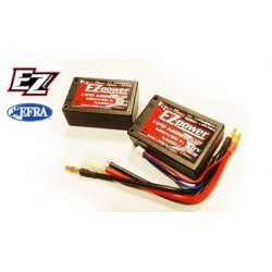 Batteria Li-po Saddle Pack 7,4V 6000nAh 60/120C (art EZP6000/1+1