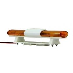 Jamara Lampeggiante doppio a led giallo L 105mm H 22mm (505504)