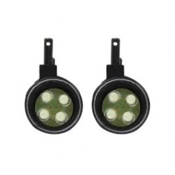 Jamara Coppia luci a LED con parabole per splinter (art. 505284)