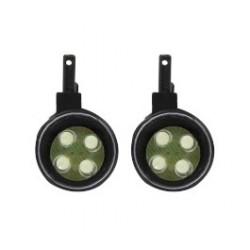 Jamara Coppia luci a LED con parabole per splinter (art. 505284)