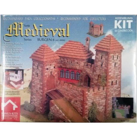 Domus castello medievale 6 di coreva scala 1 65 art for Piani di casa castello medievale