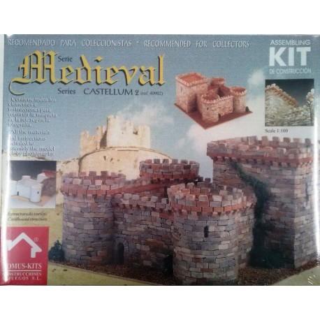 Domus Castello medievale 2 di Villalonso scala 1/100 (DOM40902)
