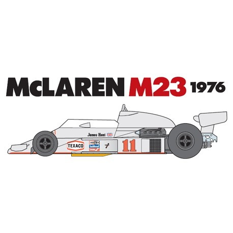 Tamiya F1 McLaren M23 del 1976 (art. TA/20062)