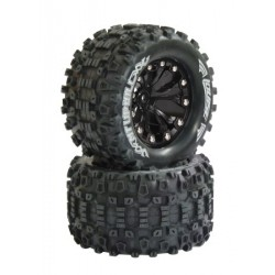 "Coppia gomme 1/10 Monster Truck MT UPHILL 2.8"" Soft (art. 052860)"