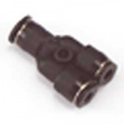 Raccordo a Y innesto rapido da tubo mm.4 a tubo mm.3 (RCA/15675)