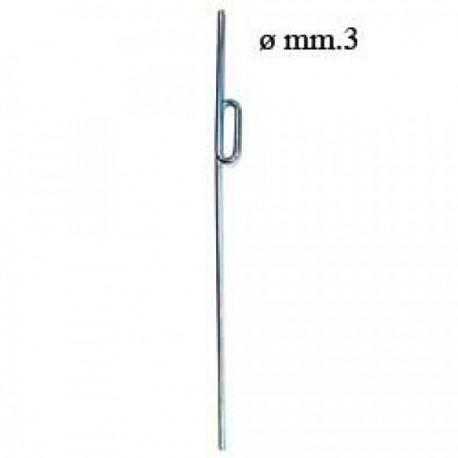 Euroretracts Coppia gambe alari carrello mini Diametro 3mm (art. RCA/15555/000)
