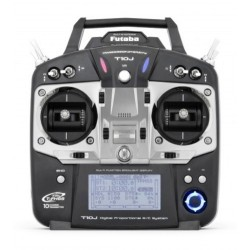 Futaba Radiocomando T10J + Rx R3008SB 2,4GH T-FHSS DRY (1110A)