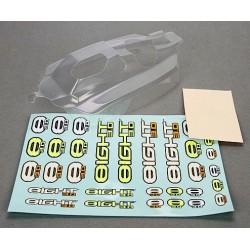Losi Carrozzeria trasparente 8IGHT Nitro Buggy 3.0 (art. TLR240000)