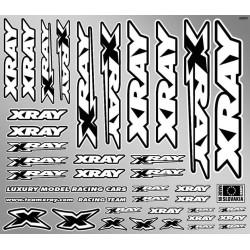 Xray Foglio adesivi per carrozzerie 240x210mm (art. 397311)