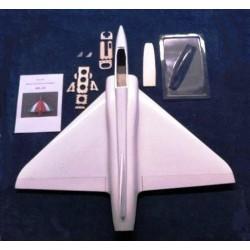 Arolab Aeromodello Jet in fibra con ala a delta MILAB