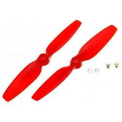 Blade Coppia eliche rosse per Blade 200 QX (art. BLH7708)