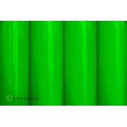 Oracover 2 mt Verde FLUORESCENTE (art. 21-041-002)