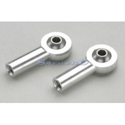 Hobbico Coppia uniball in Alluminio da M3 (art. HCAQ8163)