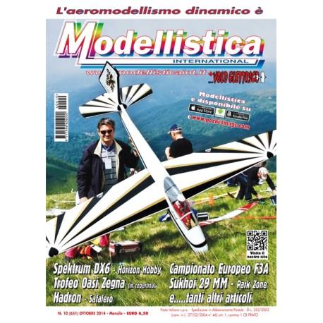 Modellistica Rivista di modellismo n°10 Ottobre 2014