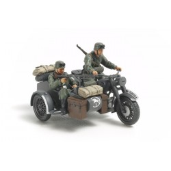 Tamiya German Motorcycle / Sidecar Kit scala 1/48 (art. TA32578)