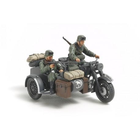 Tamiya German Motorcycle / Sidecar Kit scala 1/48 (art TA/32578)