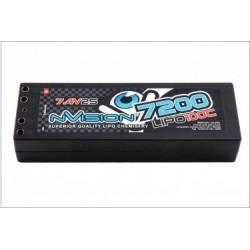 nVision Batteria Li-po Factory Pro 2S 7,4V 7200mAh 100C (art. NVO1121)