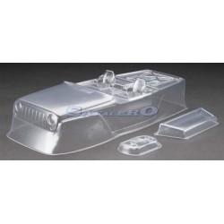 """Axial Jeep Wrangler Rock Racer Body .040"""" trasparente (AX04038)"""